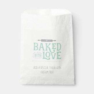 Sacolinha Cozido com as bolsas do favor do amor