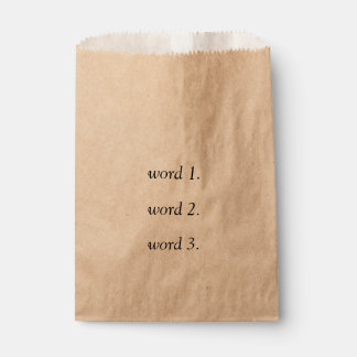Sacolinha Criar seu próprio texto pensativo em três palavras