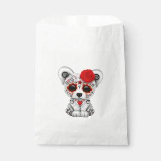Sacolinha Dia vermelho do urso polar do bebê inoperante