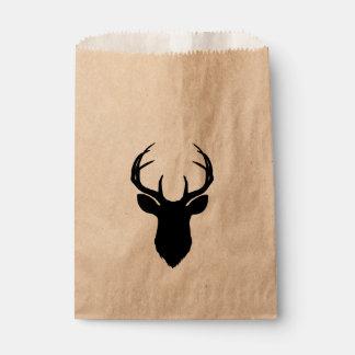 Sacolinha Do país rústico principal dos Antlers dos cervos