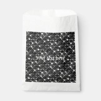 Sacolinha Escalas preto e branco de Falln