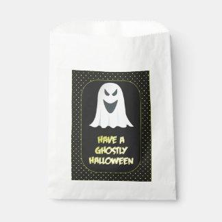 Sacolinha Fantasma espectral do Dia das Bruxas