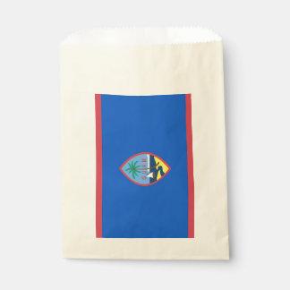 Sacolinha Favoreça o saco com a bandeira de Guam, EUA
