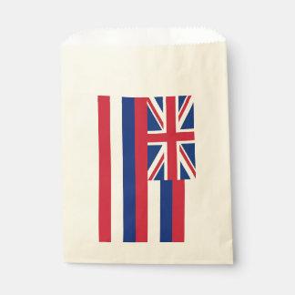 Sacolinha Favoreça o saco com a bandeira de Havaí, EUA