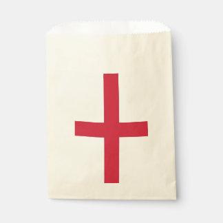 Sacolinha Favoreça o saco com a bandeira de Inglaterra,