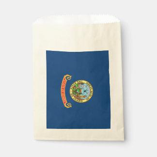 Sacolinha Favoreça o saco com a bandeira do estado de Idaho,