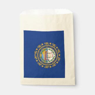 Sacolinha Favoreça o saco com a bandeira do estado de New
