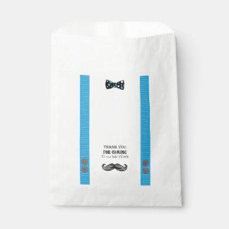 Sacolinha Festança do bigode - chá de fraldas - doces - as