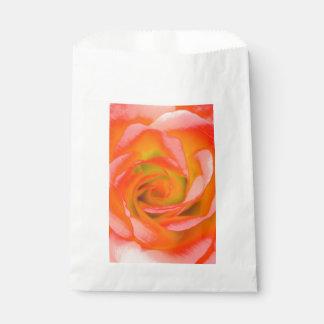 Sacolinha Fim-acima cor-de-rosa da laranja