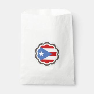 Sacolinha Flor porto-riquenha da bandeira