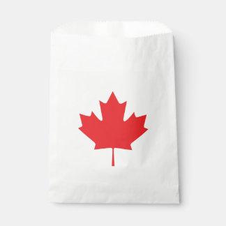 Sacolinha Folha de bordo canadense