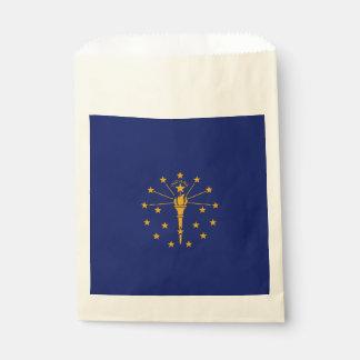 Sacolinha Gráfico dinâmico da bandeira do estado de Indiana