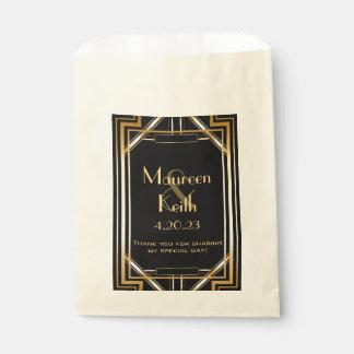 Sacolinha Grande Gatsby inspirou o saco dos doces do favor