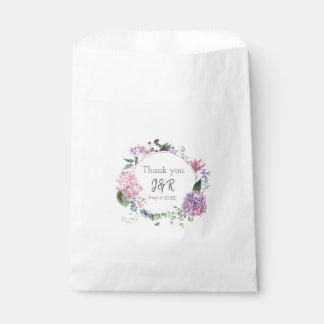Sacolinha Grinalda da flor do Hydrangea que wedding o