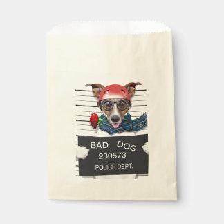 Sacolinha Jaque engraçado russell, cão do Mugshot