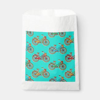 Sacolinha Luz - saco azul do favor da bicicleta