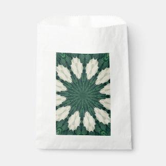 Sacolinha Mandala. da folha verde e de prata de Sacramento
