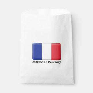 Sacolinha Marine Le Pen as 2017 bolsas do partido