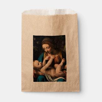 Sacolinha MED Kristusbarnet de Madonna