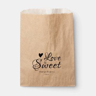 Sacolinha O amor é doce