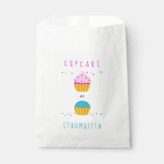 Sacolinha O cupcake ou o género de Studmuffin revelam