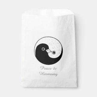 Sacolinha O favor ensaca a pomba Harmomy de YinYang