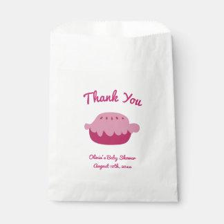 Sacolinha Obrigado as bolsas de papel do favor de partido do