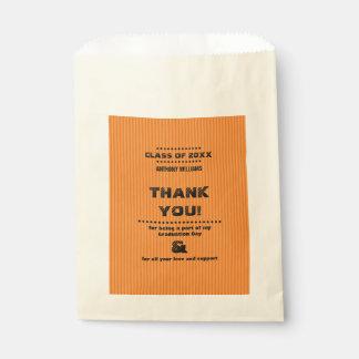 Sacolinha Obrigado as bolsas feitas sob encomenda do favor