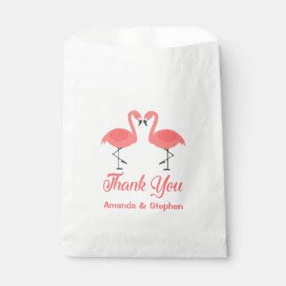 Sacolinha Obrigado cor-de-rosa você festa de casamento Luau