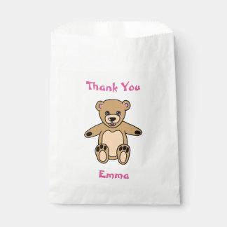 Sacolinha Obrigado que bonito do urso de ursinho você nomeia