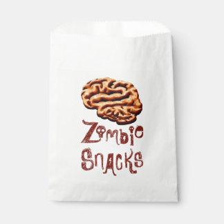 Sacolinha Petiscos o Dia das Bruxas do zombi