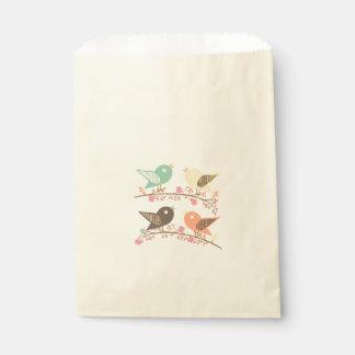 Sacolinha Quatro pássaros