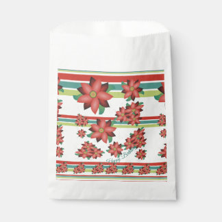 Sacolinha Saco de papel florescido do biscoito
