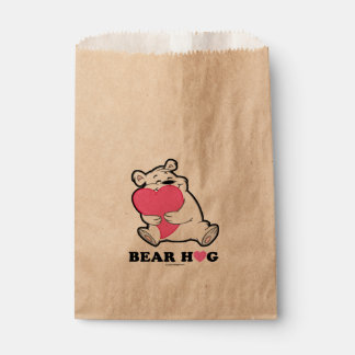Sacolinha Saco do favor do abraço de urso