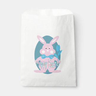 Sacolinha Saco do favor do coelho de felz pascoa do bebé