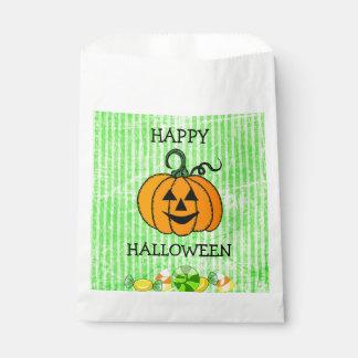Sacolinha Saco feliz do favor da abóbora do milho de doces