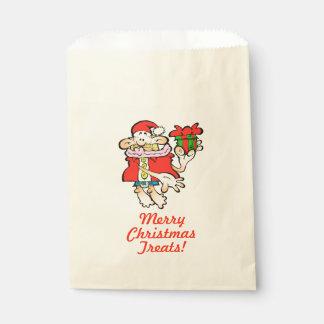 Sacolinha Saco sem-sentido do deleite do favor do Natal do