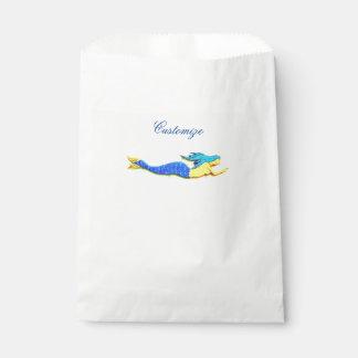 Sacolinha sereia azul-atada nadadora Thunder_Cove