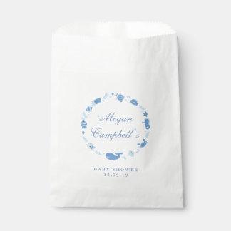 Sacolinha Sob as bolsas do favor do chá de fraldas
