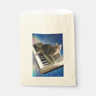Sacolinha teclado do gato