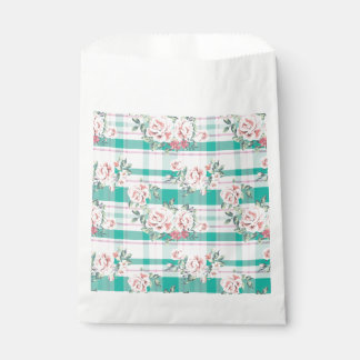 Sacolinha Teste padrão cor-de-rosa das flores bonitas do