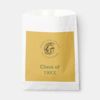 Sacolinha Trojan retro preto de Samuel Ayer do ouro