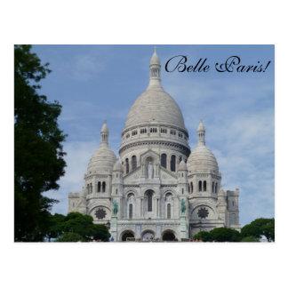 Sacré Cœur Paris - cartão