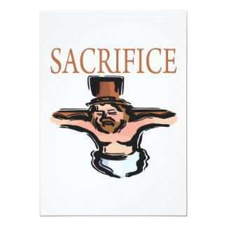 Sacrifício Convites Personalizados