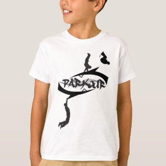 Sacudir abstrato de Parkour Camiseta