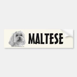 Sadie maltês adesivos