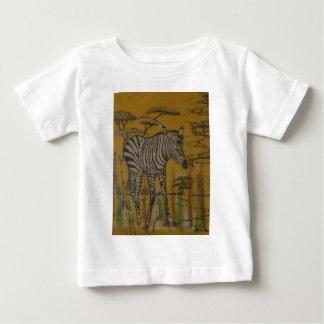 Safari africano Zebra.png de Kenya da vida Camisetas