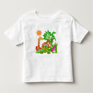 Safari de selva camiseta infantil