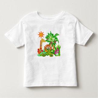 Safari de selva camisetas