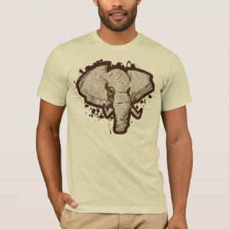 Safari do elefante camiseta